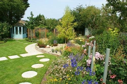 Details for adam s bailey garden design in unit 9 home for Garden designs for medium gardens