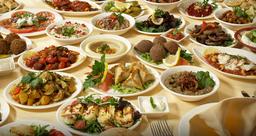 selection of meza