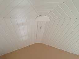 Notice the difference with an Insulated Ceiling