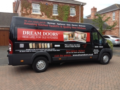Look Out For Our Van! & Dream Doors Worcester in 42 The Tything Worcester Worcestershire ...