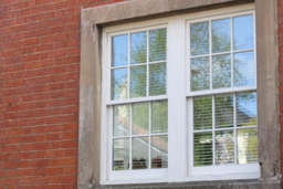 Wooden windows, made in Nottingham