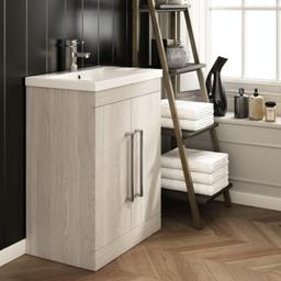 Cubico Bathrooms White Cape Elm Cameo B