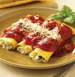 cannelloni ricotta cheese and spinach