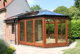 Lovely Oak Conservatory