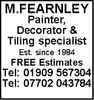 M Fearnley