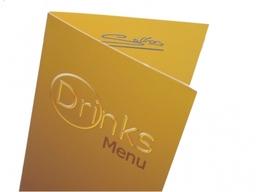 Laminated Bar & Restaurant Menu's