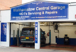 walthamstow central garage front view