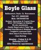 BOYLE GLASS