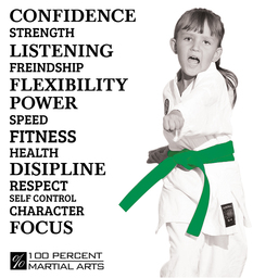 Confidence 100% Martial Arts