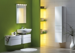 Sweet Green Bathroom,Modern Bathroom Design plumber-nottingham.co.uk