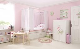 Childrens Four Poster Bed