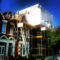 London Network Scaffolding Ltd - Residential Property - Extension
