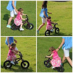 Bike riding is the first love of every child.