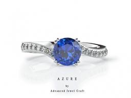 Azure Engagement Ring