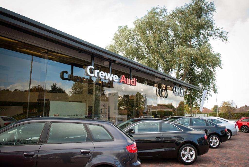 Crewe Audi In Gateway Crewe Cw1 6yg Huddersfield Examiner