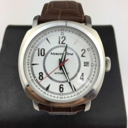 Millennium Moscow Time Automatic wrist watch with one of the best Russian Slava movement