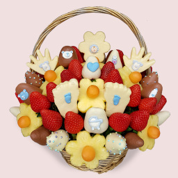 Baby Shower Fruit Bouquet
