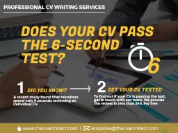 CV 6 second test