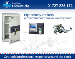 Anytime Locksmiths | St Albans