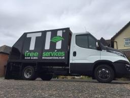 T.H Tree Services Work Vehicle