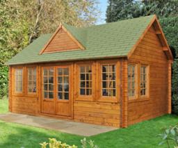 Cheviot log cabin