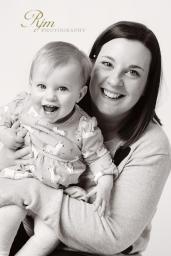 Mum and Baby portrait