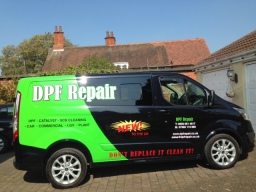 New vehicle livery for dpf repair