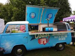 Buttercup Bus - branded campervan bar hire