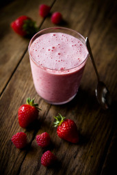 strawberry-smoothie-London- food photographer