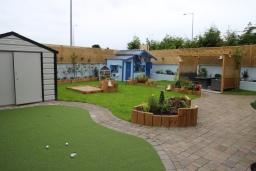 back garden design Lucan