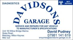 Davidsons Garage Front 2