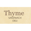 Thyme Sandwich Deli