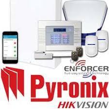 Pyronix alarm and Hik Vision
