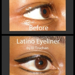 Semi Permanent Latino Eyeliner By El Truchan @ Perfect Definition