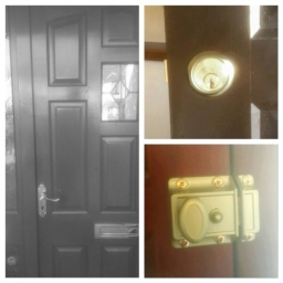 Fitted night latch