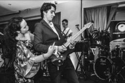 Lead Guitar Solo Wedding Band Cork