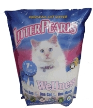 Litter Pearls Wellness Silica Gel Cat Litter