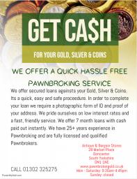 Instant Cash Doncaster