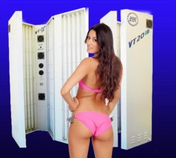 Stand up Sunbeds for home hire