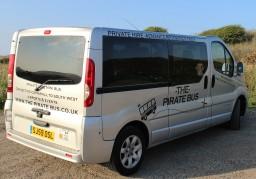 The Pirate Bus. Penzance, Cornwall.