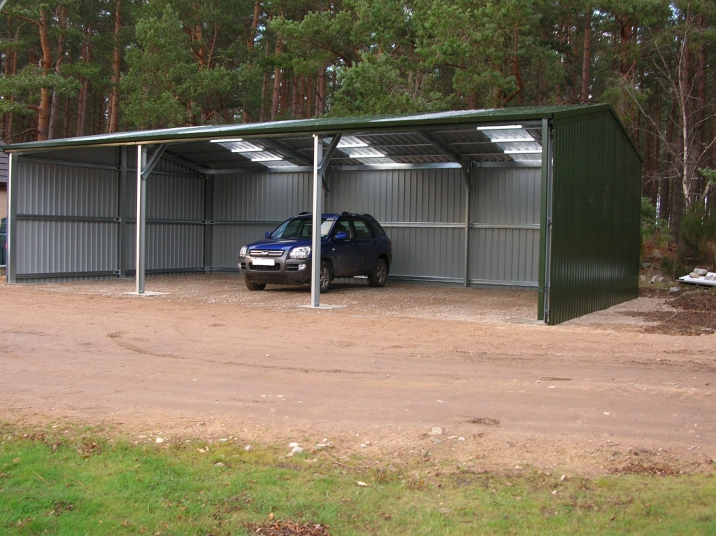 Details for easy steel buildings in 147 chantry road for Open pole shed
