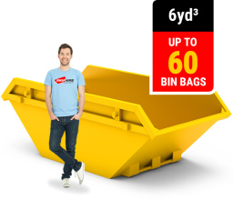 6 CUBIC YARD MINI SKIP