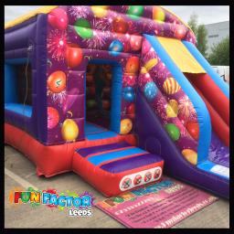 Bounce & Slide Combo Celebrations Theme