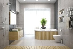 Bathroom Renovation with Pine
