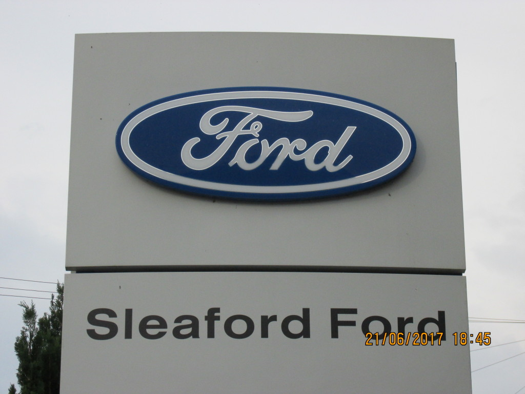 Details For Sleaford Ford In The Garage 73 Boston Road