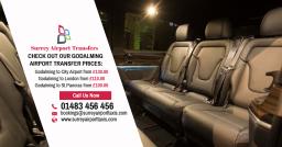 Mercedes E-Class Chauffeur - Guildford Airport Tra