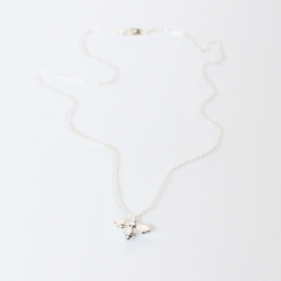 Tilley & Grace Silver Plated Bee Necklace