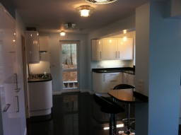 Retro Kitchen Installation.  Broxbourne