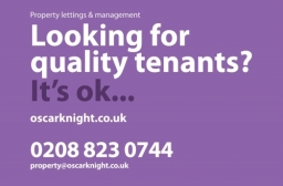 Oscar Knight Estate Agents: Looking for Quality Tenants Flyer