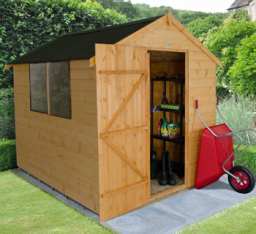 Shiplap 8 x 6 shed with Onduline roof